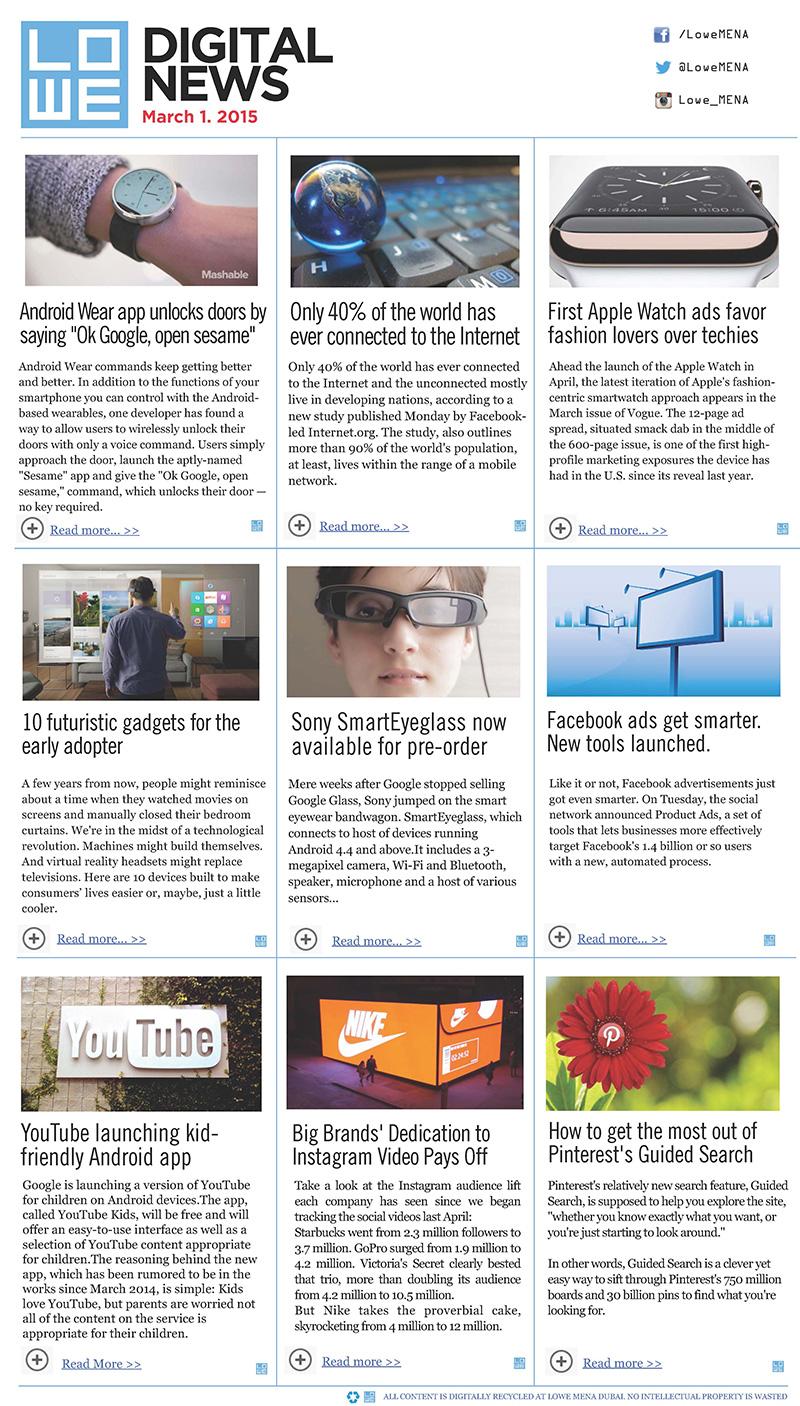 Lowe-Digital-News-March-1